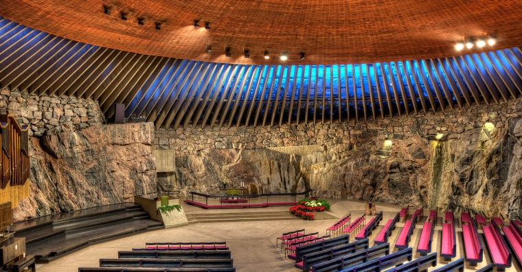 rock church, helsinki