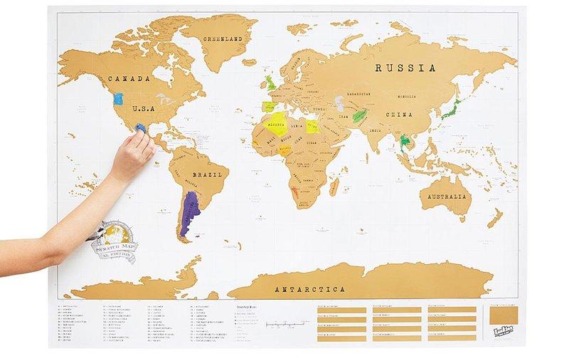 გადასაფხეკი რუკა
